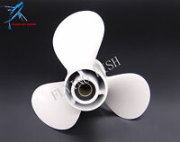 664-45945-00-el Outboard Aluminum Alloy Propeller 9 7/8x10 1/2-f For Yamaha 20hp