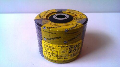10 compartiments Klingspor disques 125mm grain 60 smt 324 extra schleifmopteller NOUVEAU /& OVP