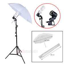Photo Studio Continuous Lighting One Umbrella Light Lamp Photography Stand