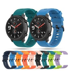 For Various Samsung SmartWatch Strap Silicone Fitness Wrist Band Gym Sports