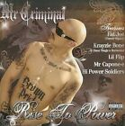 Rise to Power 0809367208124 by Mr. Criminal CD