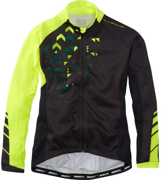 Madison Sportive - Womens Long Sleeve Thermal Roubaix Cycling Jersey - Size 10