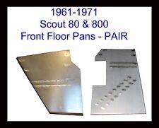 Front Floor Pans Fits 1961 1962 1963 1964 1965-1971 SCOUT 80 & SCOUT 800 PAIR