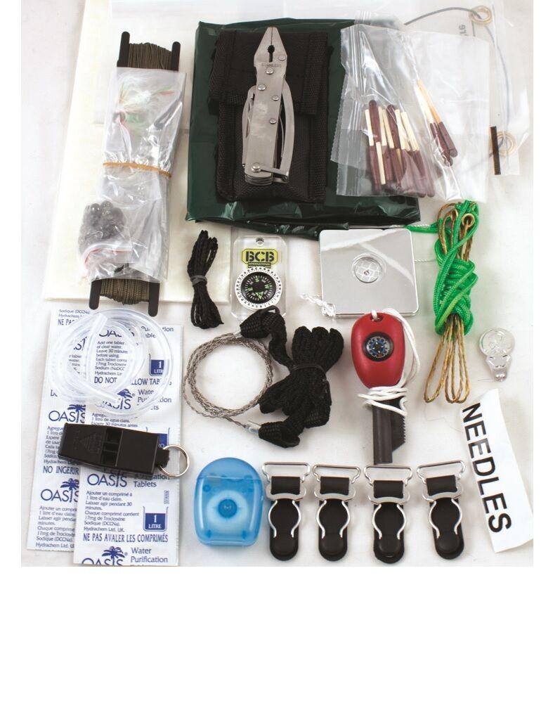 Bcb ck028l Ultimate súpervivencia Bushcraft (SF) Kit De súpervivencia, Nuevo, Envío Gratis