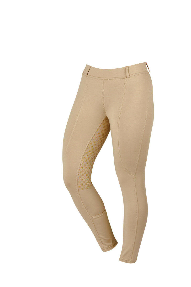 Dublin Performance Cool-It Gel Riding Tights Silicone Print Full Seat for Grip