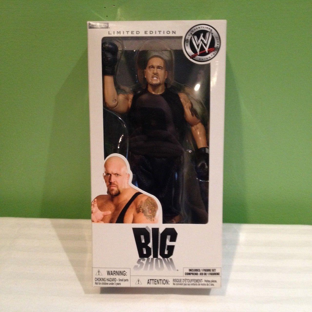 WWE WWF VERY RARE THE BIG SHOW LIMITED EDITION JAKKS WRESTLING FIGURE SHIPS FREE