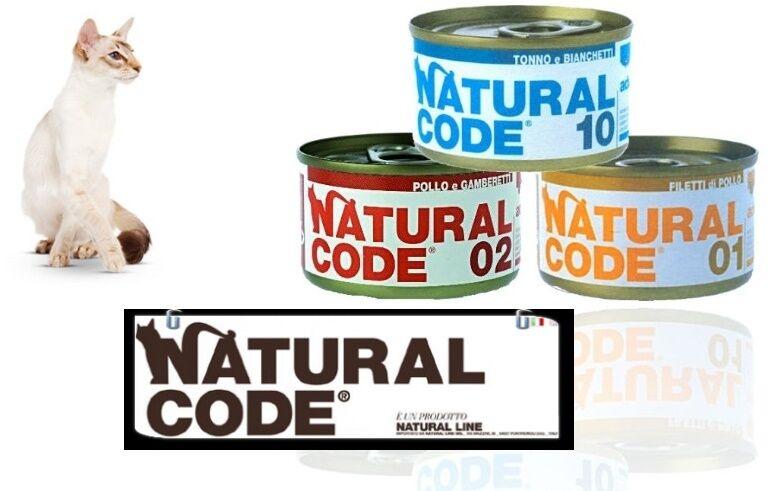 Natural code scatolette per gatto 85 gr mix gusti 96 96 96 pz   leggere descrizione e799e4