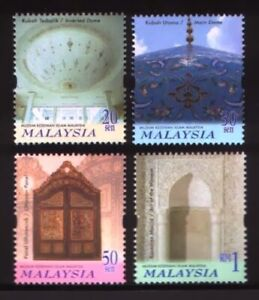 SJ-Islamic-Arts-Museums-Malaysia-2000-Religion-Culture-Heritage-stamp-MNH