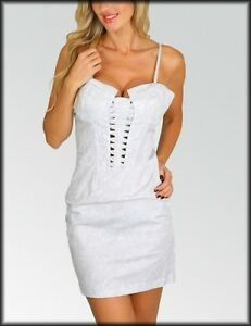 women's dress sexy pinup corset mini club cocktail fitted