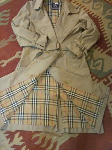BURBERRY CLASSIC TRADITIONAL MEN'S BELTED TRENCH C