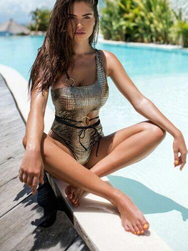 Monokini bra Womens  Women bikini Fashion swimsuit padded summer swimwear