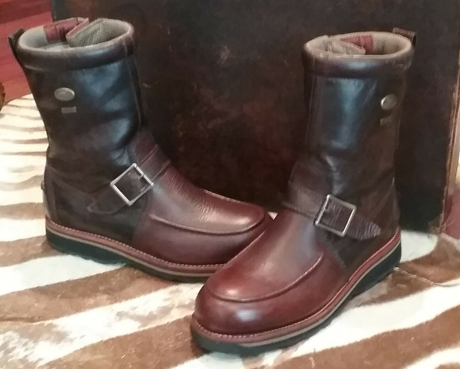 Irish Setter Wingshooter 9  Gore-Tex® Side Zip Boots, Style 855, US 9D (Men's)
