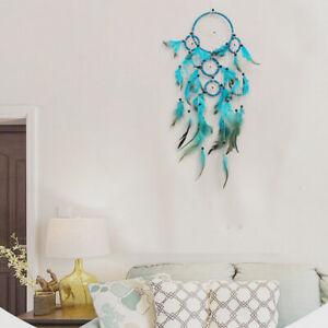 Large Handmade Knitted Dream Catcher Indian Dreamcatcher Home Bedroom Hanging UK