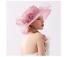 Cappello-da-cerimonia-elegante-e-di-classe-diametro-grande-57cm miniatura 2