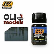 Weathering STREAKING GRIME for PANZER GREY Enamel 35ml - AK Interactive 069