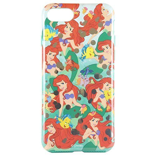 Gourmandise Disney characters iPhone7 soft case Ariel dn-388c Japan