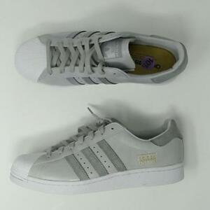 Details about ADIDAS ORIGINALS SUPERSTAR BOOST SHOES GREY WHITE MEN'S SIZE 10.5 BZ0206 NEW