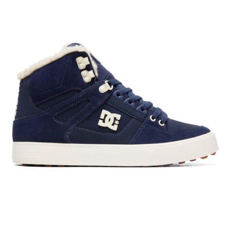 de pure forrado 8w Top forrado alto Dc para cuero Boots Shoes Nkh 47 cuero hombre Hi de YPq0wB