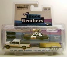 1974 '74 DODGE MONACO 2015 '15 RAM THE BLUES BROTHERS HITCH AND TOW GREENLIGHT