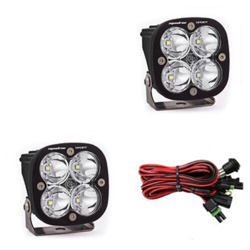Baja Designs Squadron Sport Pair ATV LED Light Spot Led Pattern
