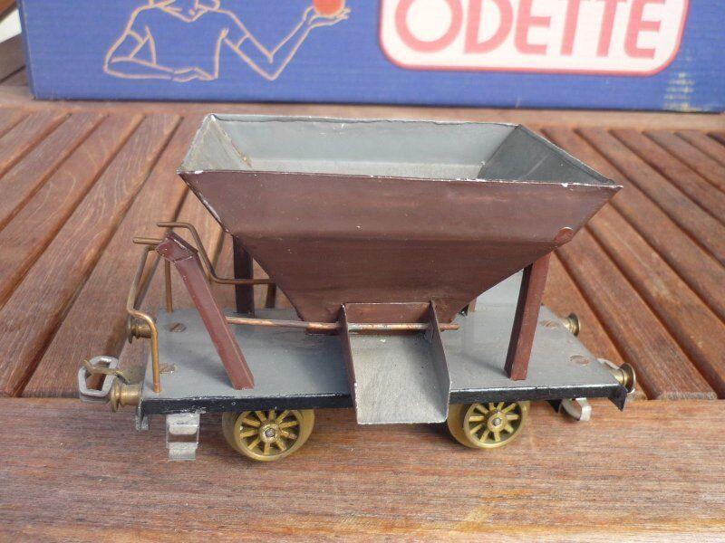 Pista o CONSTRUIR UNO MISMO Vagón de autodescarga brown COMO TALBOT