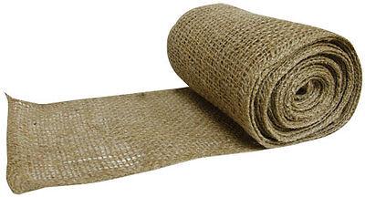 Primitive Country Farmhouse Burlap Ribbon 6 Inches wide, 2 rolls