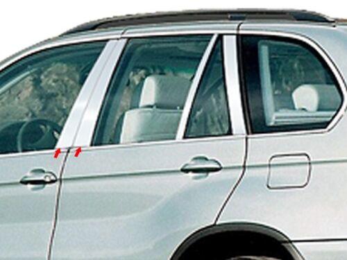 PILLAR POST TRIM BMW Stainless Steel QAA Chrome Window Accent Custom Fit