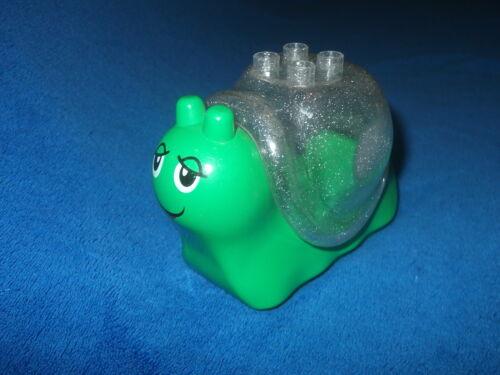 Lego Duplo Tier Schnecke hell grün Haus transparent Glitzer 31230 31229pb01 2834