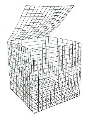 EcoGrid Gabion Basket 0.55 x 0.55 x 0.55m :: 5 Pack :: Discount :: Postage Deal