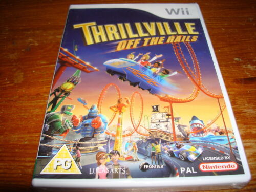 1 of 1 - THRILLVILLE OFF THE RAILS ** NEW & SEALED ** Nintendo Wii Game