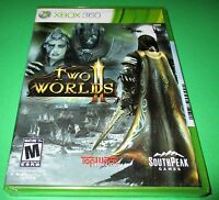 Two Worlds Ii Microsoft Xbox 360 Factory Sealed Free Shipping