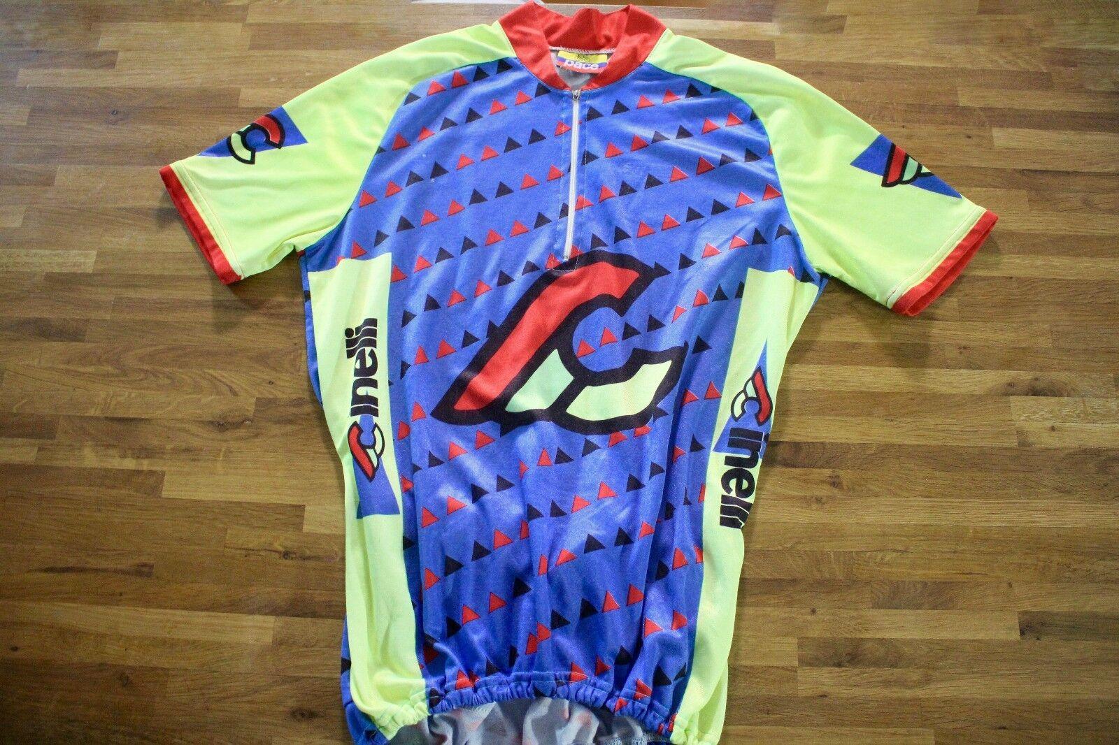Vintage Cinelli Fantasy Half Sleeve Cycling Jersey