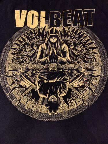 Volbeat 2010 Tour Shirt Size M