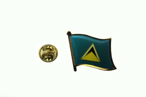 LUCIA  Country Flag Metal lapel PIN BADGE ..NEW St