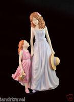 Retail $320 Pretty Ladies Royal Doulton Tender Mothers Love Figurine Child