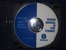 NEW HOLLAND TNA SERIES TRACTOR SERVICE SHOP REPAIR BOOK MANUAL 87393899-CD