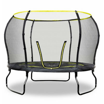 Rebo 10ft Air Launch 2 Trampoline With Halo II Enclosure