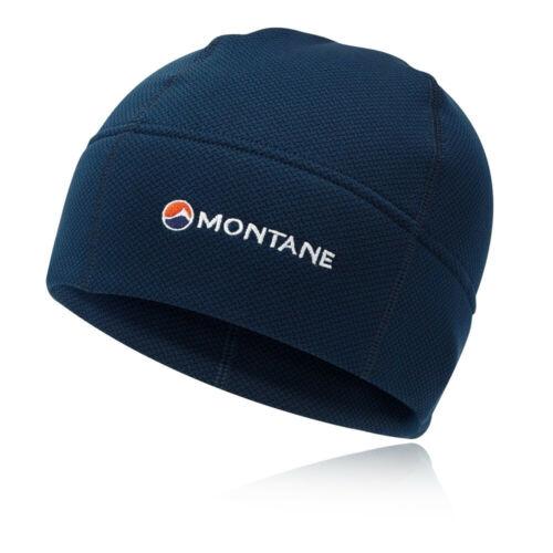 Navy Blue Sports Outdoors Warm Breathable Montane Mens Iridium Beanie