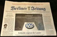 Berliner Zeitung, Babys Geburtstagszeitung vom  23. - 31. August 2016