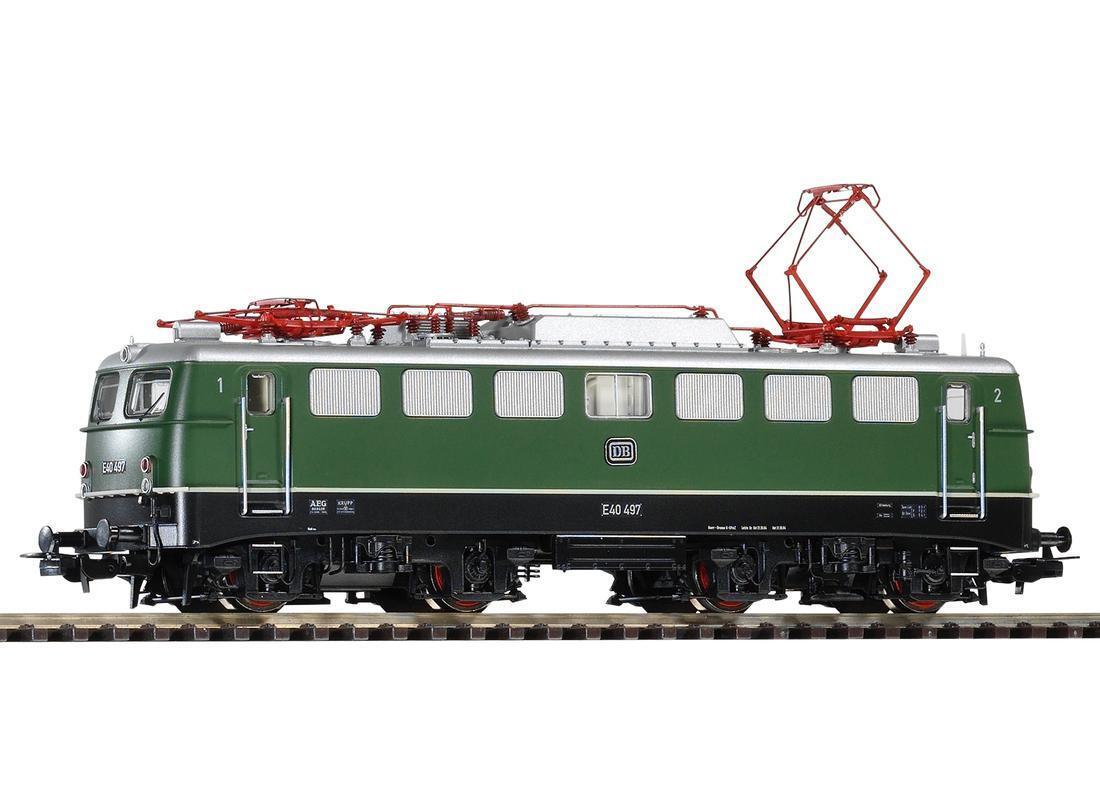 Piko-h0-ac - 51739-e-Lok e40 DB ep3 verde digital para Märklin-System