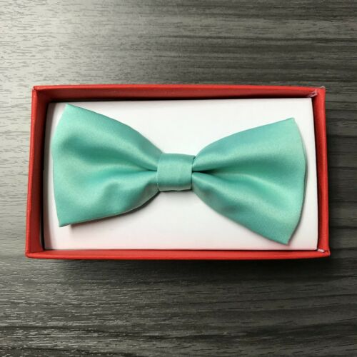 Colors Clip on Adjustable Wedding Bow-Tie for Toddler Baby Kids Boys Girls 50