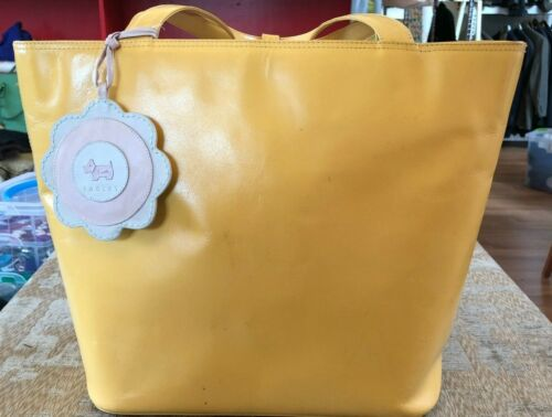 Hilary Radley Designer bag in Hot Mustard