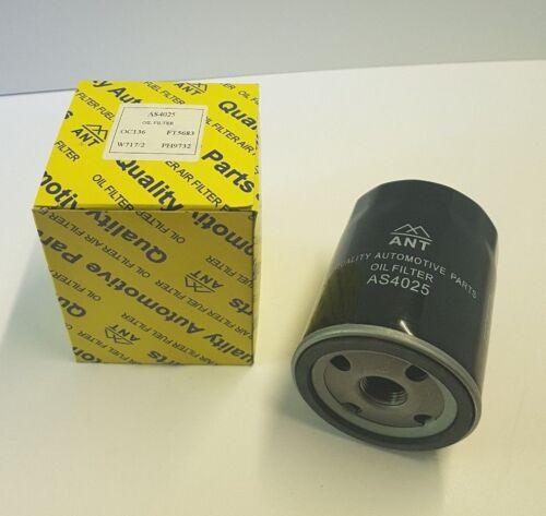 , Filtre à huile AS4025-x-ref: PH9732 W7172 OC17 Z859 LS348, EOF052 WL7125