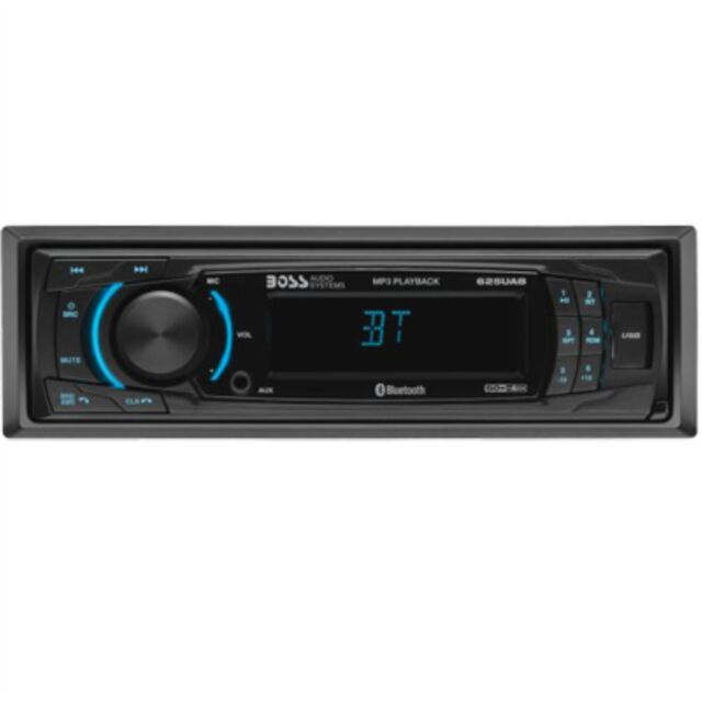 Wireless Remote Detachable Front Panel Bluetooth BOSS AUDIO 625UAB Single-DIN MECH-LESS  Receiver
