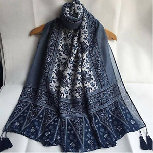 Women-Fashion-Blend-Long-Hijab-Scarf-Shawl-Wrap-Pashmina-Scarf-Neck-Stole-Scarve