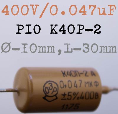 GUITAR TONE UPGRADE AUDIO CAP 680pF K40Y-9 PIO Capacitors 0.68nF 4 x 200V