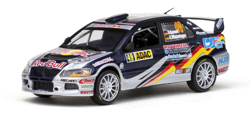 1/43 MITSUBISHI lancer lancer lancer evo IX Red Bull ADAC Rallye Allemagne 2010 H. Gassner Jr. a71bb1