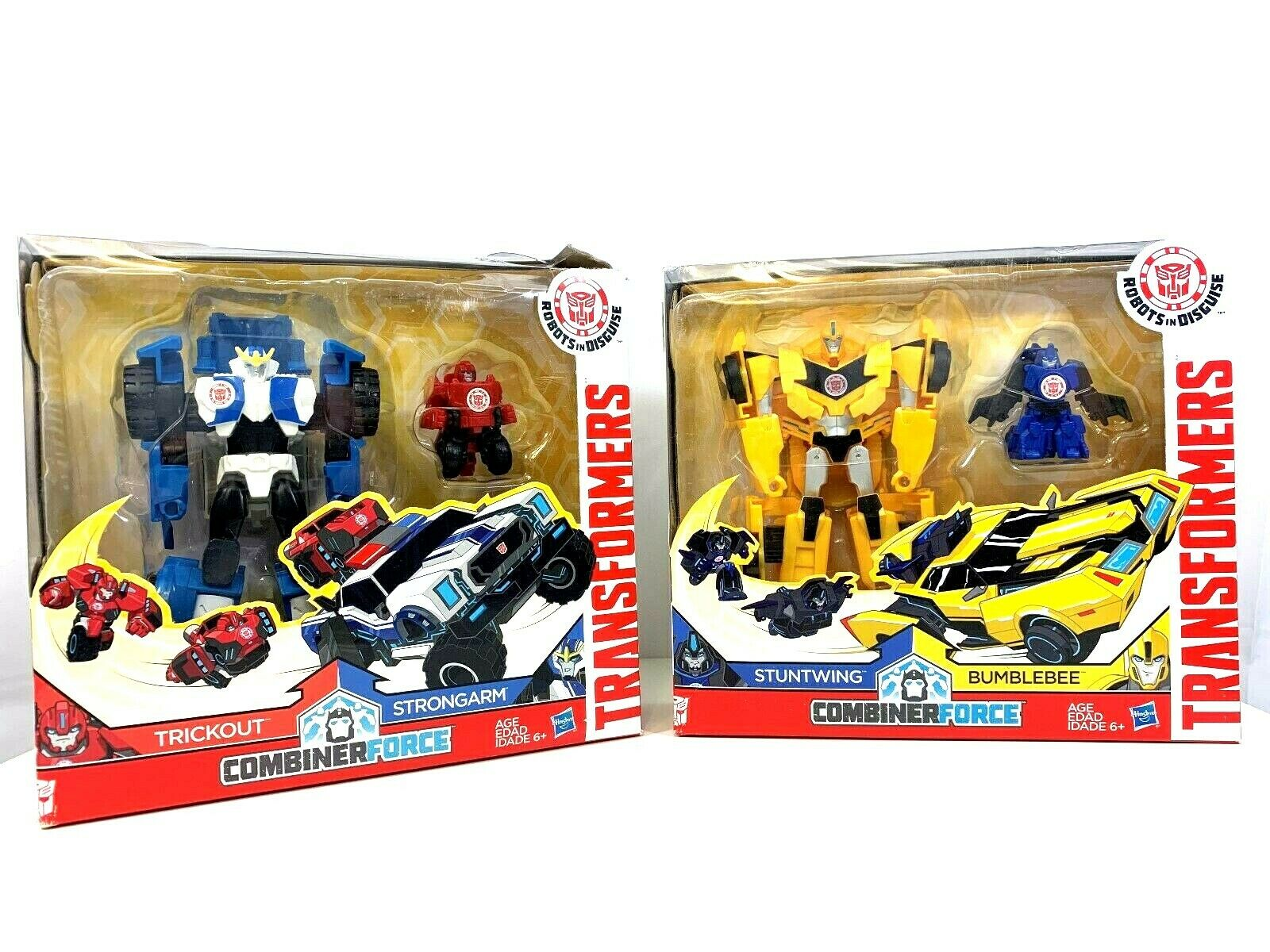 Hasbro Transformers RID Robots in Disguise Combiner Force Strongarm + BUMBLEBEE