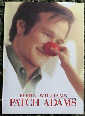 Patch Adams 1998 Original Uk Press Media Brochure Robin Williams Ebay