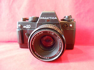 Praktica bx spiegelreflexkamera objektiv prakticar mc pentacon